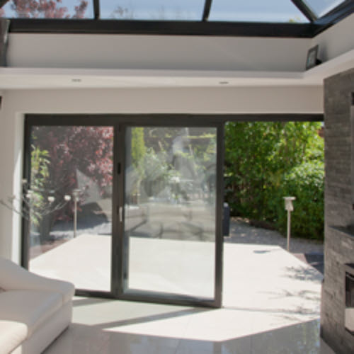Mastercraft ltd aluminium dual or triple track sliding doors for Panel tracks for patio doors