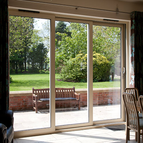 Mastercraft ltd aluminium dual or triple track sliding doors for Wide sliding patio doors