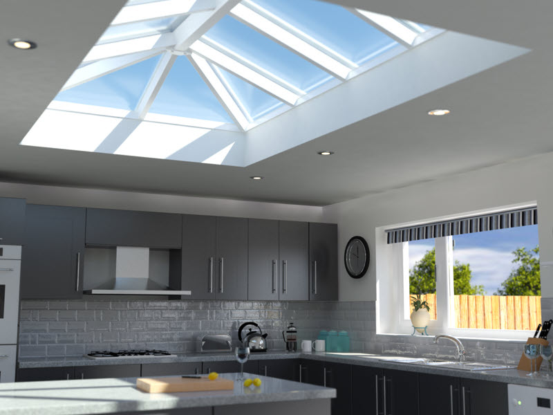 glass roof lanterns blackpool